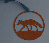 Fox oxidised finish