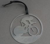 TT Bike brushed steel